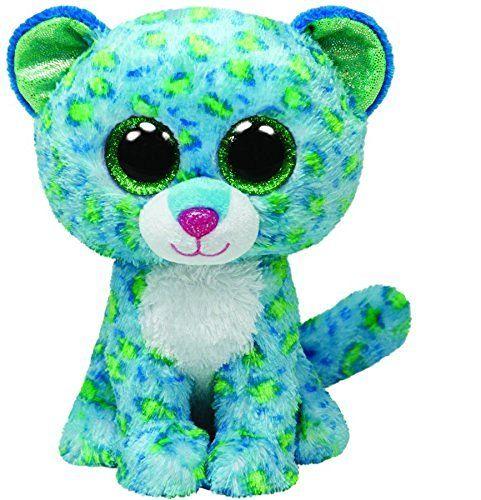 Ty Beanie Boos Leona Blue Leopard Regular Plush by Ty Beanie Boos, http://www.amazon.com/dp/B00HQDIJ5C/ref=cm_sw_r_pi_dp_x_cUD3xb4EBM8YX