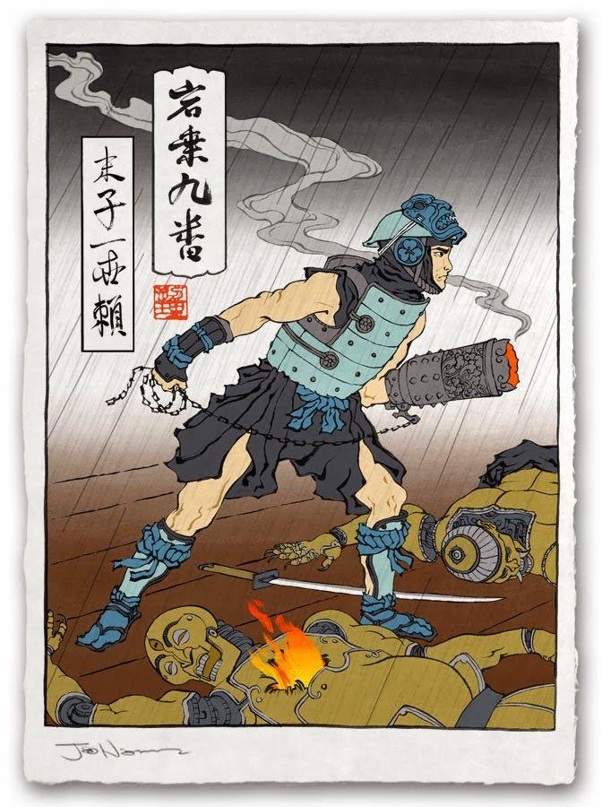 Ukiyo-e-Heroes-1.jpg (672×900)