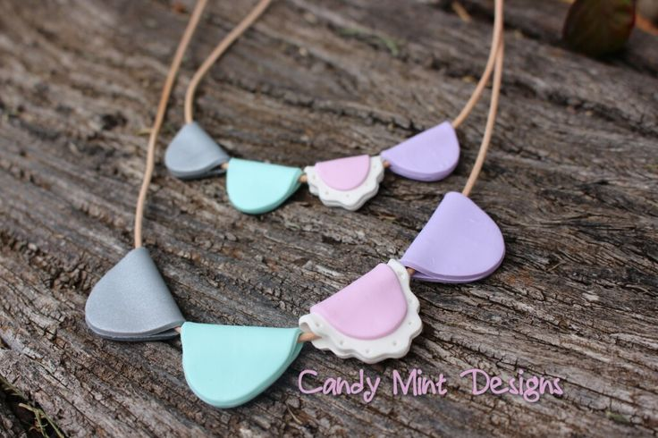 Bunting Necklace / Candy Mint Designs