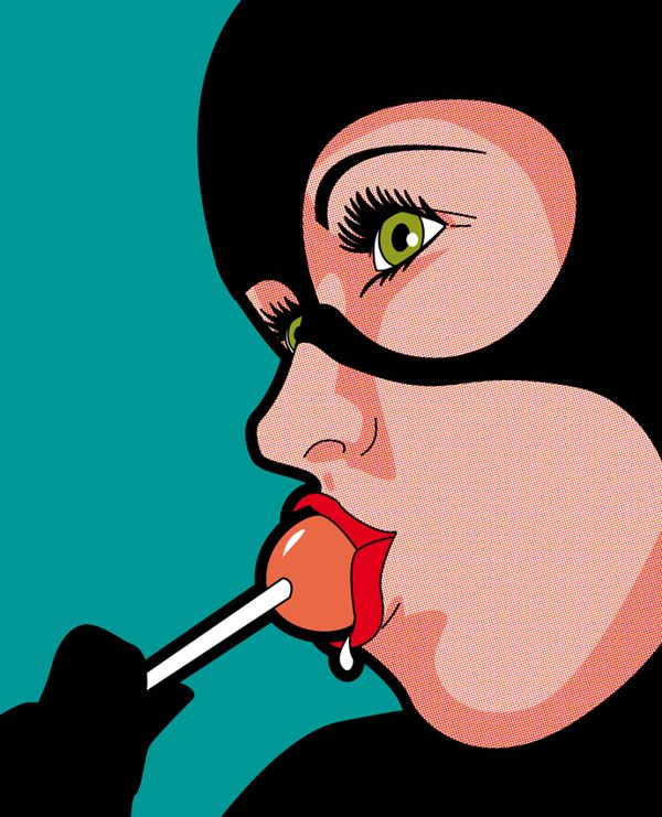 Catwoman // The Secret Life of Heroes by Grégoire GUILLEMIN, via Behance