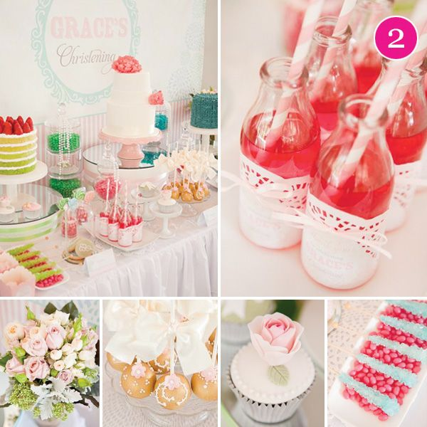beautiful christening party