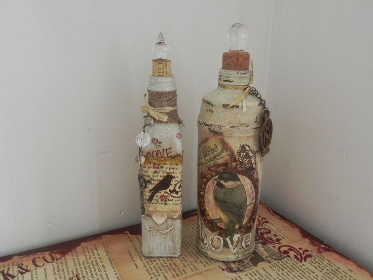 Габриэла Albo ремесла подарки: романтические Бутылки