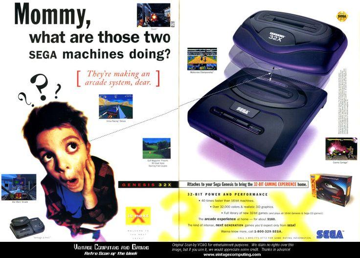 """Sega - """"What are those two Sega machines doing?"""""""