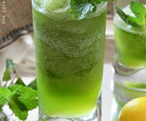 Limonana - Frozen Mint Lemonade Recipe — Dishmaps