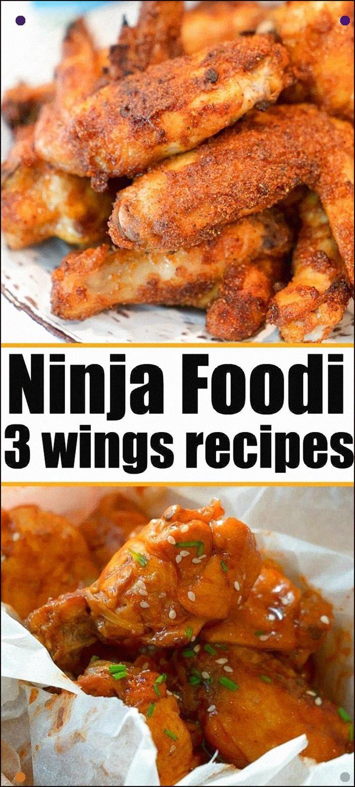 how long to air fry frozen chicken wings in ninja foodi