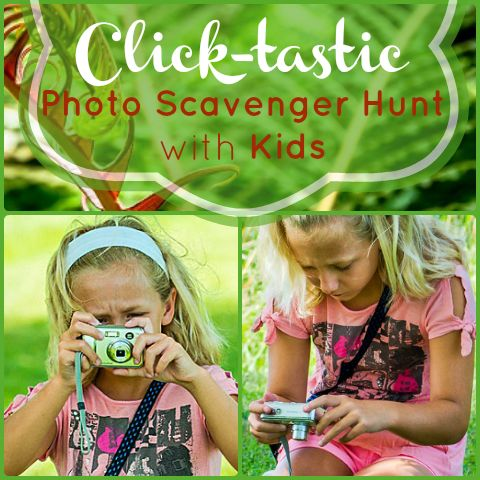 Plan and organize an outdoor photo scavenger hunt for fall-inspired items!
