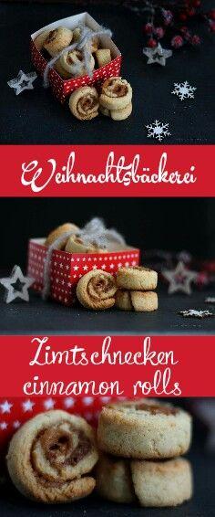 Die Weihnachtsbäckerei ist eröffnet. Heute bringe ich leckere weihnachtliche Zimtschnecken als Plätzchen mit. Rezept mit Klick auf den Link. #weihnachten #plätzchen #rezept