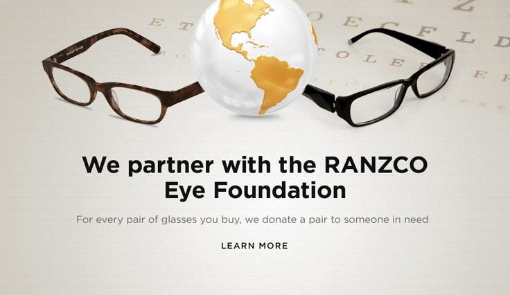 You buy a pair, we donate a pair! Prescription Glasses Online | Oscar Wylee