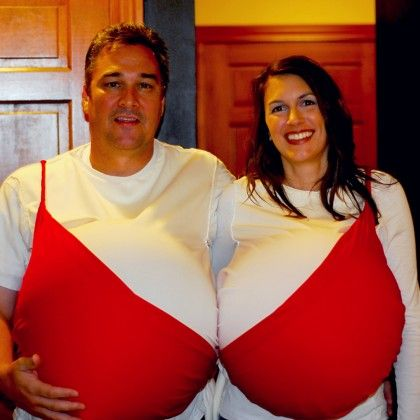 i dare you pregnant ladies halloween costumes for the whole family on - Pregnant Halloween Couples Costumes