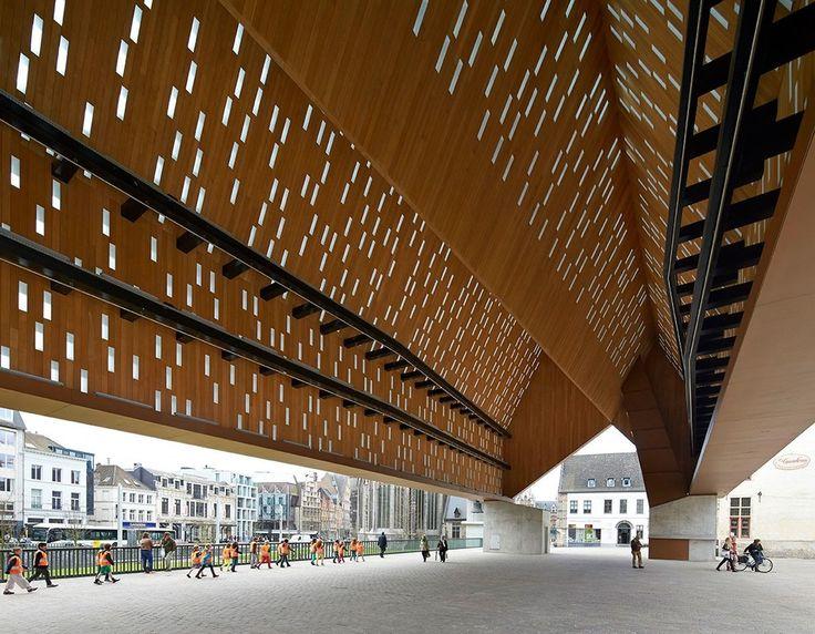 Ghent, Belgium Market Hall Robbrecht En Daem Architecten, Marie-josé Van Hee