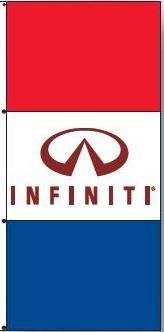 Infiniti Dealer Drape Banner Flag
