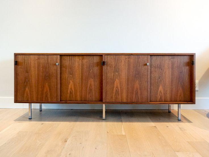 knoll credenza storage credenza buffet media. Black Bedroom Furniture Sets. Home Design Ideas