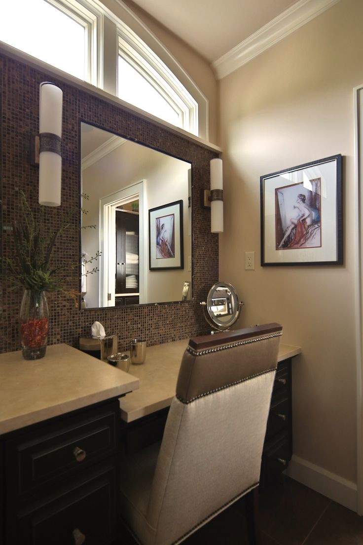 Master bathroom make up vanity bathroom pinterest for Master bathroom vanity
