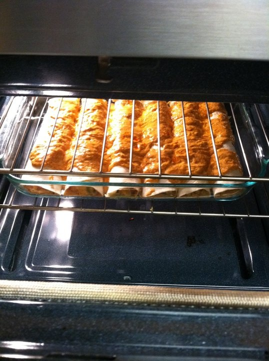 Chicken Enchiladas Supreme 2 teaspoons oil 1 cup chopped onions 1 cup ...