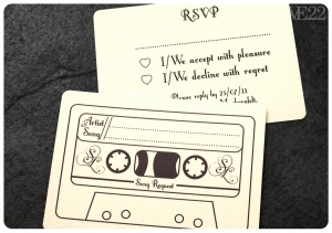 Fun idea! Ask for song requests on the wedding RSVP card.