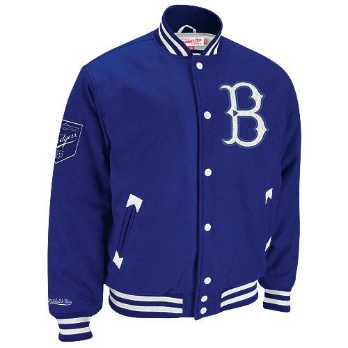 f82fc81f334d Brooklyn Dodgers Cooperstown Wool Jacket by Mitchell & Ness   Dodgers Men's  Gear   Dodgers jacket, Dodgers, Dodger stadium