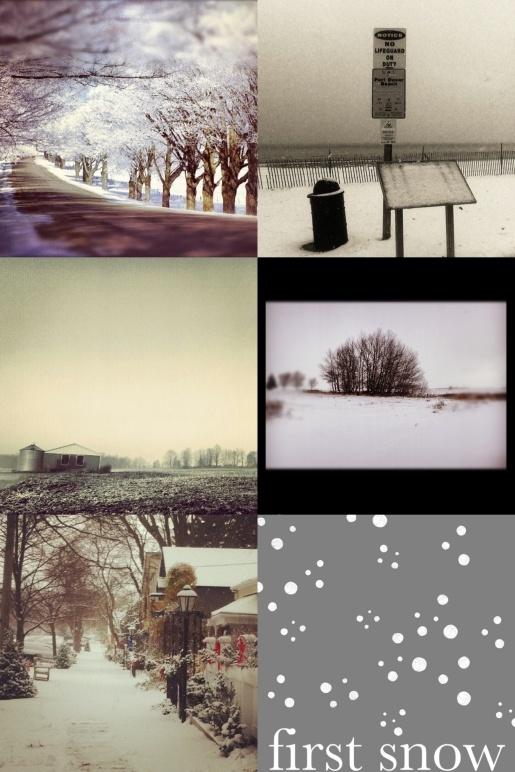 {See} The First Snow in Rural Ontario » www.ruralist.ca