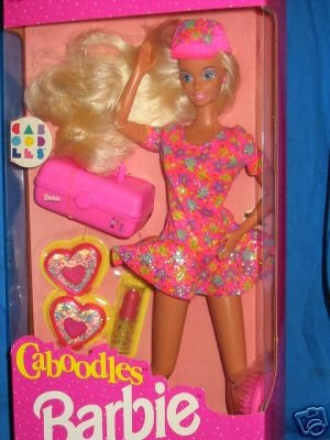 1992 - Caboodles Barbie (my sister had her!)