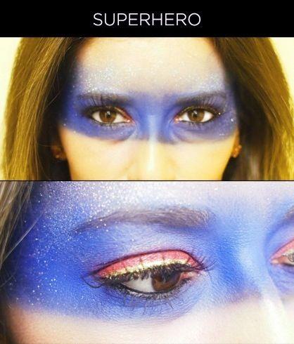 Superhero Makeup 17 Best ideas about Su...