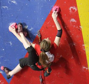 More climbing tips for women.