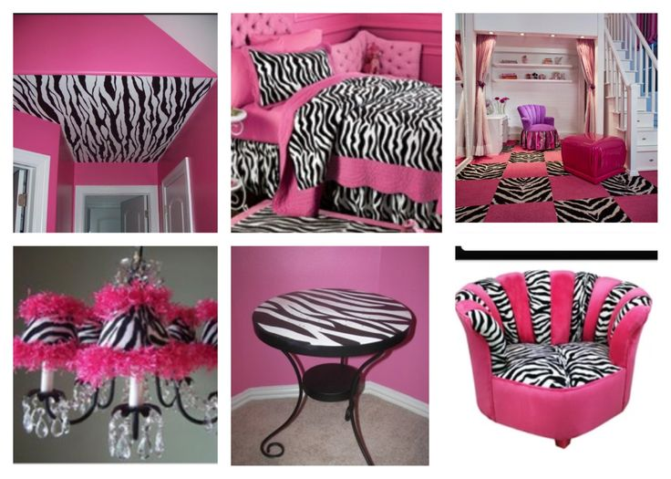 Pink and zebra room cool!!!!!!!!!!!!!!!!!