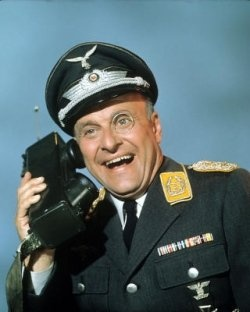 Werner Klemperer - played the hilarious Colonel Klink on Hogans Heroes. Great actor and fantastic show!  (3/22/1920-12/6/2000)