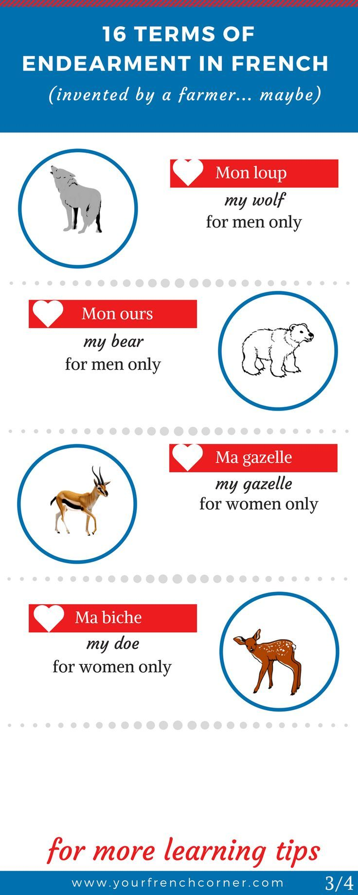 16 Unusual Endearment Terms In French (invented by a farmer… maybe) #frenchwords