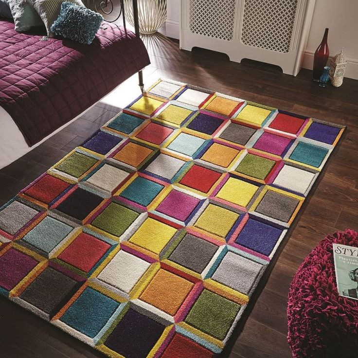 25 best ideas about tapis multicolore on pinterest - Grand tapis de salon ...