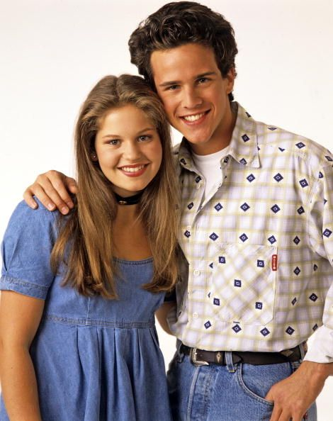 """""""Full House"""" Stars Candace Cameron And Scott Weinger Are Playing A TV Couple Again"""
