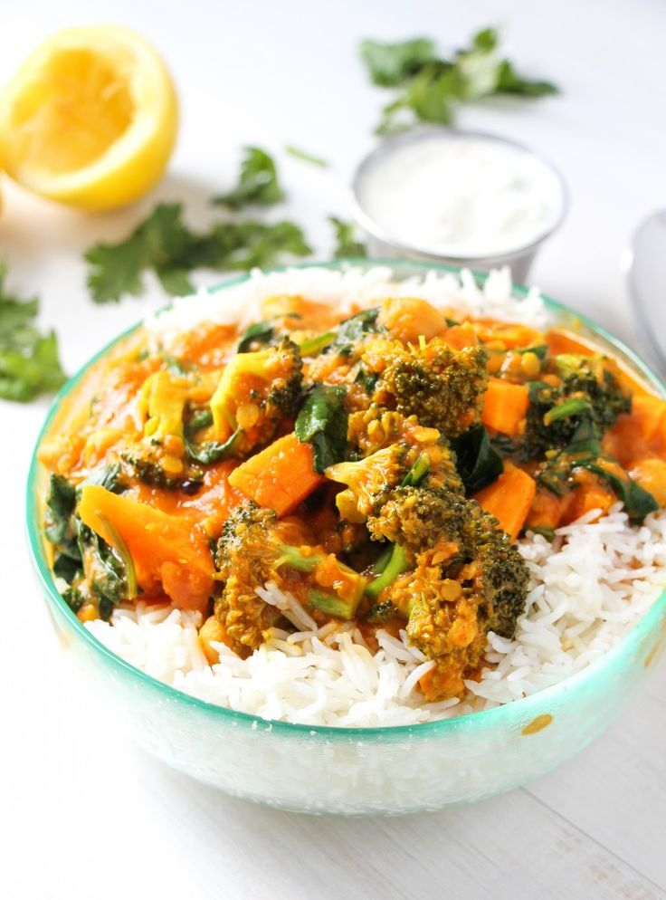 The Best Vegetable Curry Ever.