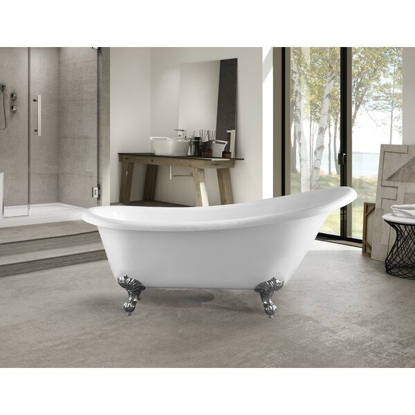 67 X 30 Clawfoot Soaking Bathtub Soaking Bathtubs Free Standing Bath Tub Luxury Tub