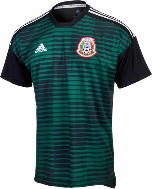 0e10c77b7 2018 19 adidas Mexico Prematch Youth Jersey. Buy it from SoccerPro.