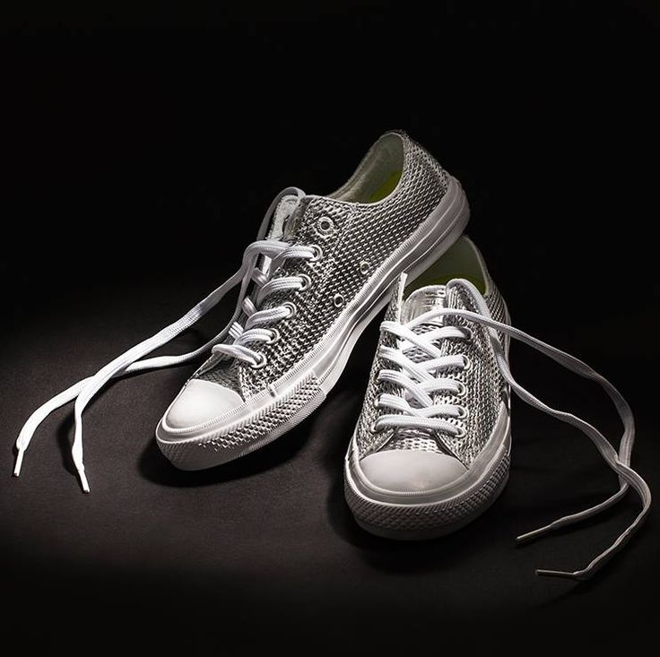 Every cloud has a silver lining! Choose silver sneakers #CONVERSE NOW ON SALE!!