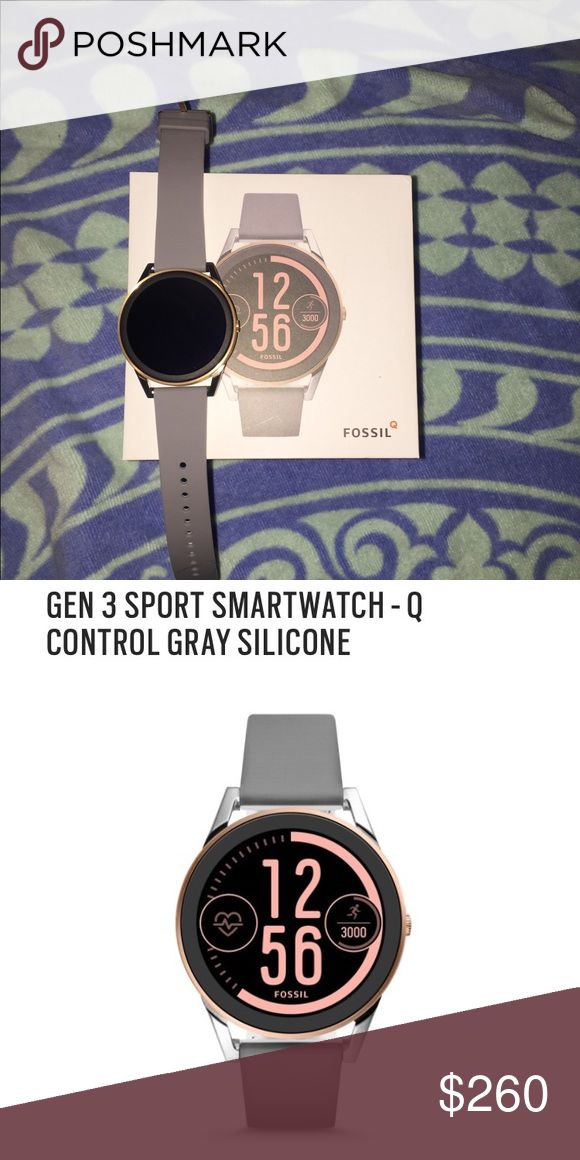 Gen 3 Fossil smartwatch Brand New! Took out of the box to look at but decided I didn't want it! Works with iPhones but best compatible with androids! Original price is 275! Fossil Accessories Watches