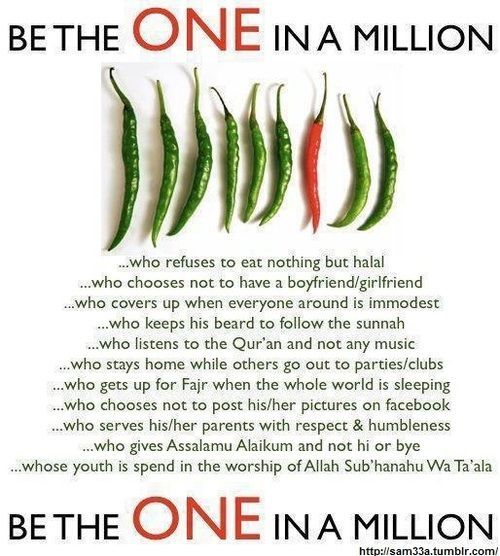 Be the ONE in a million