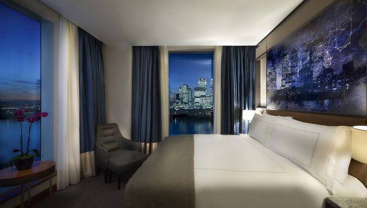 Intercontinental London - The O2 offers accommodations in London. The hotel has a sun terrace and sauna, and guests can enjoy a meal at the restaurant. Private parking is available on site.  Every room comes with a flat-screen TV. All rooms are equipped with a private bathroom. Extras include bathrobes and slippers.
