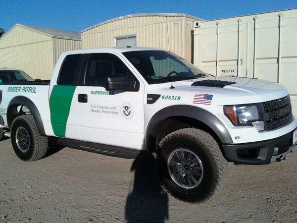 2010 Ford Raptor Border Patrol Service Package