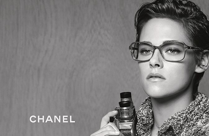 SPRING-SUMMER EYEWEAR CAMPAIGN  Kristen Stewart is the face of the latest…