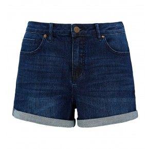 Bianca High Waist Roll Cuff Shorts