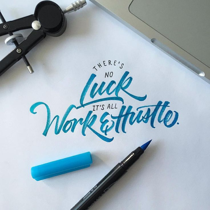 Hand-Lettering by David Milan