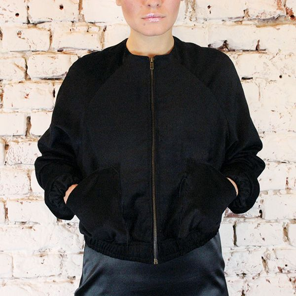 Look at this beautiful black jacket.