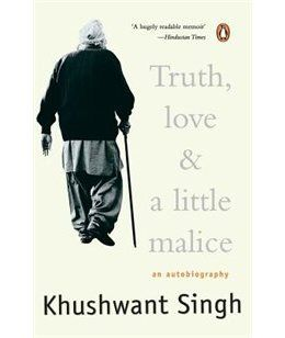 Book Truth, Love & A Little Malice by Khushwant Singh