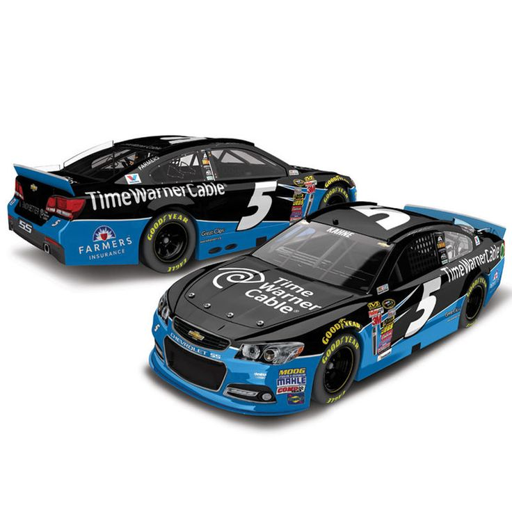 Kasey Kahne Action Racing 2015 #5 Time Warner Cable 1:24 Scale Platinum Die-Cast Chevrolet SS