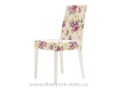 Dětská židle s kytičkami
