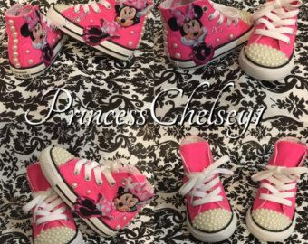 Custom Made Converse by PrincessChelsey1 on Etsy