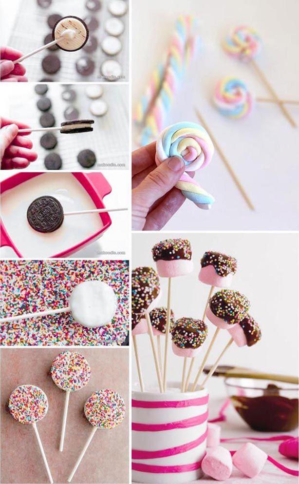 5 ideas muy rápidas para la decoración de mesas dulces