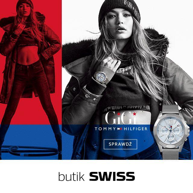 Światowej sławy modelka GiGi Hadid ponownie została muzą marki Tommy Hilfiger! Nowa energetyczna kolekcja doskonale wpisuje się w trendy z ostatnich sezonów, co czyni każdy czasomierz z tej kolekcji zdecydowanym must have sezonu jesień zima 2017. Spotkajmy się w butiku SWISS.