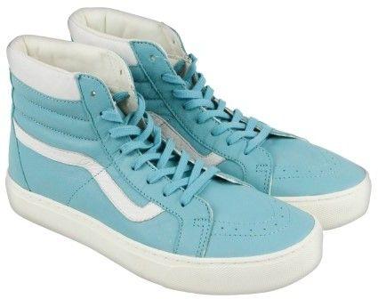 Vans Sk8-Hi Cup Aqua Sea Mens High Top Sneakers