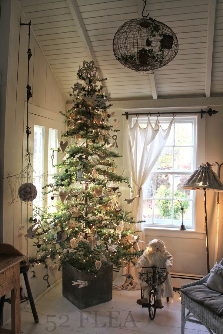 Country christmas decorations 2014 - 52 Flea Cottage Christmasprimitive Christmascountry