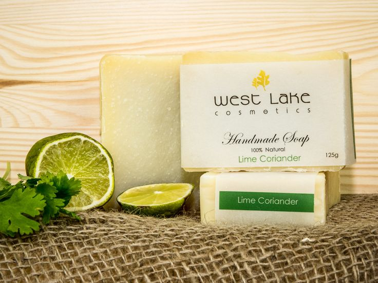 Our Lime Coriander soap is zingy and fresh with just a hint of earthiness.